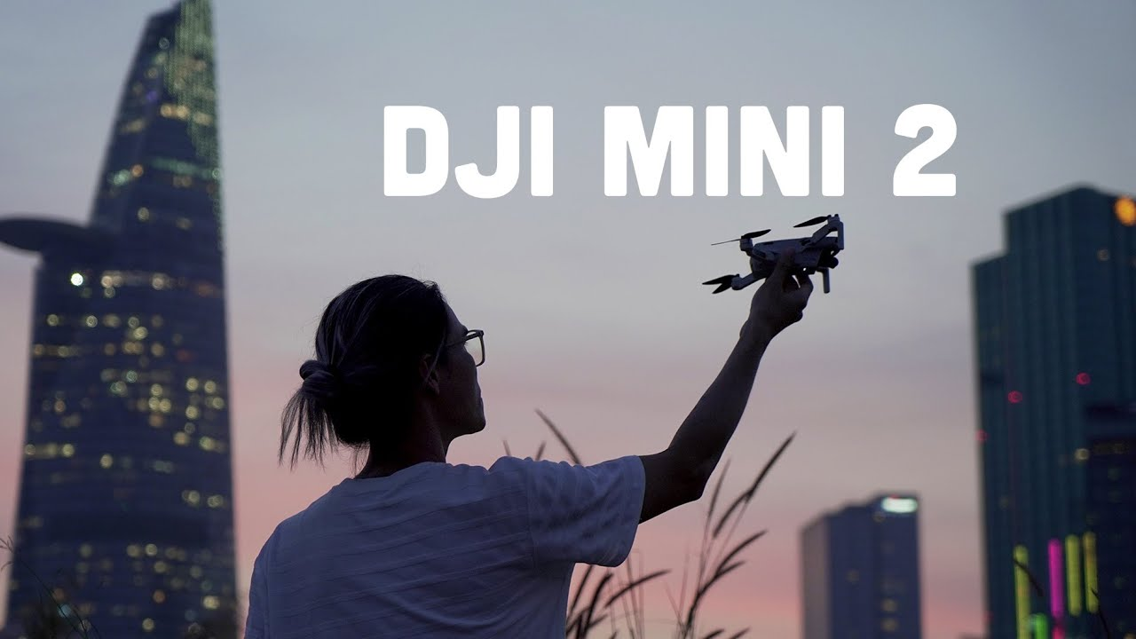 DJI Mini 2 - Quay phim 4K, pin 31 phút, bay 10km và...