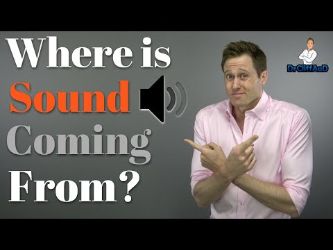 Where Is Sound Coming From?  |  How Humans Use Sound LOCALIZATION