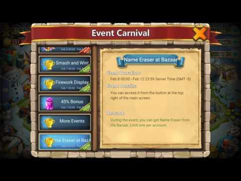Castle Clash | Change Players Name [Name Eraser]