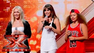 Preview: Rumour Has It work it for the Judges | Auditions Week 3 | The X Factor UK 2015