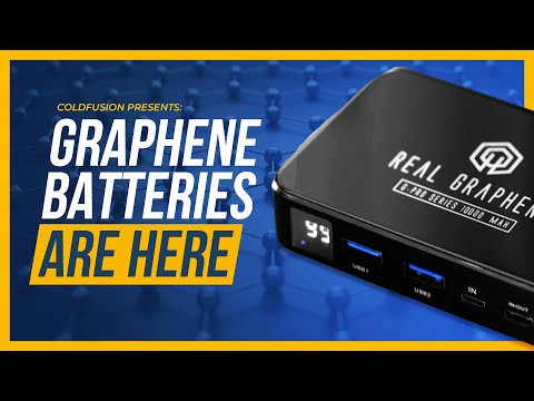 Major Breakthrough: Graphene Batteries FINALLY Hit the Market