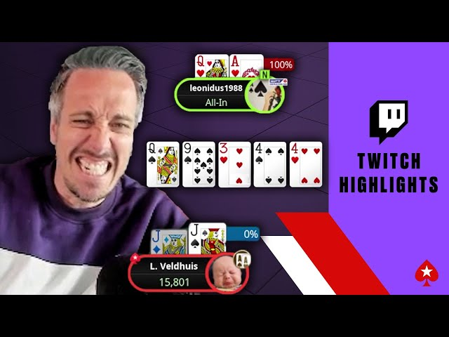 Lex Veldhuis' Biggest BLOW-UPS of the Month ♠️ Twitch Highlights ♠️ PokerStars