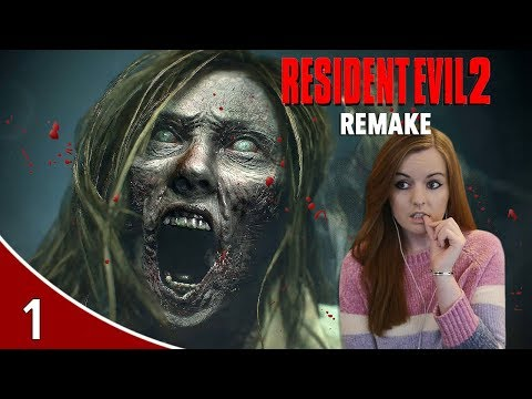 I'm Terrified! | Resident Evil 2 Remake Leon A Gameplay Walkthrough Part 1