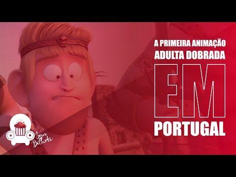 Ronaldo, O Barbaro - A primeira animação adulta dobrada em Portugal