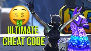 I Discovered a Fortnite Cheat Code to WIN !? | BOS | Wikando