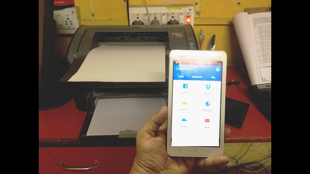 How to print from any printer in android phone no wi fi printer how to print from any printer in android phone no wi fi printer youtube keyboard keysfo Choice Image