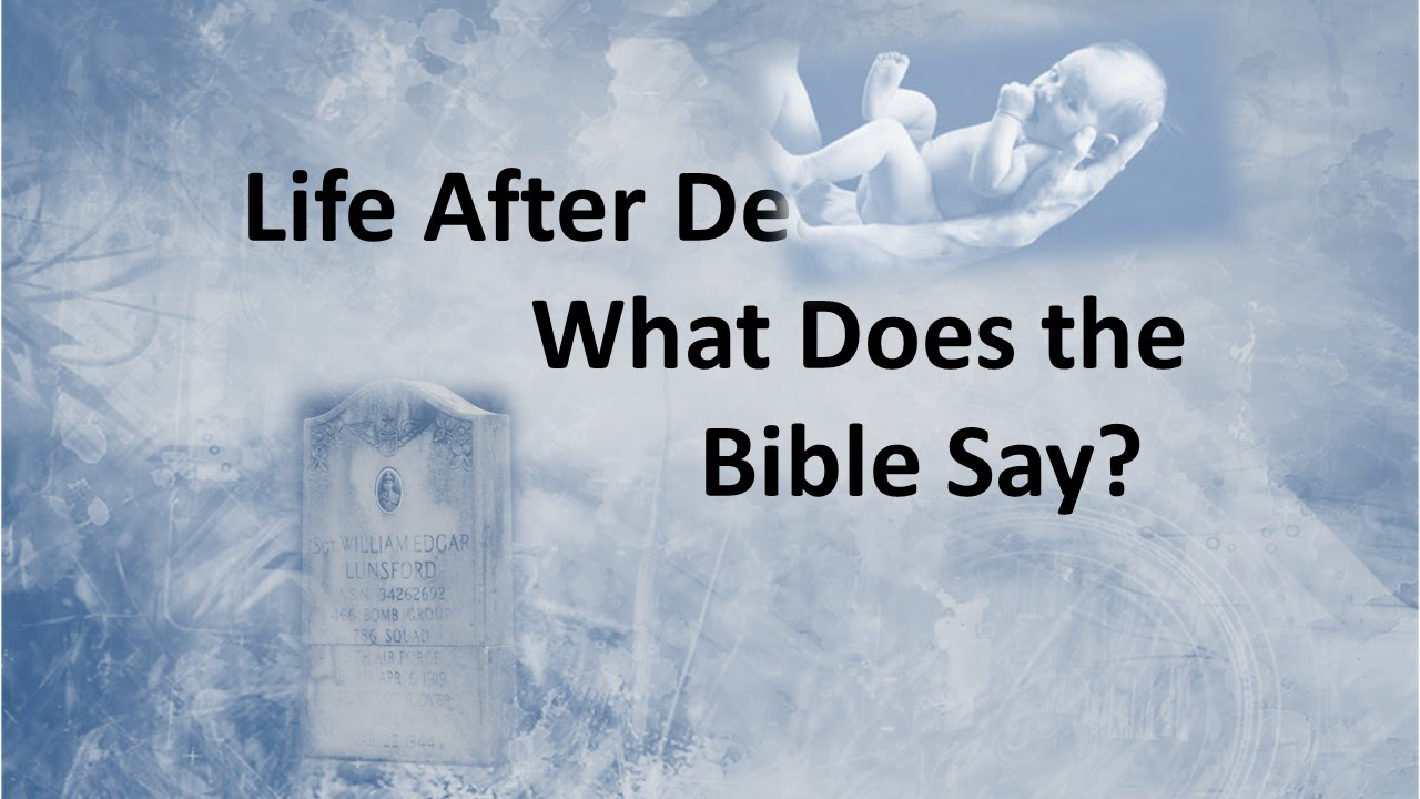 Life And Death Quotes From The Bible Life After Death What Does The Bible Say  Youtube