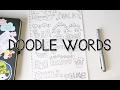 Download Video How to turn WORDS into Doodles! | Doodle Words
