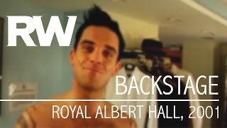Robbie Williams |åÊBackstage | Live At The Albert 2001