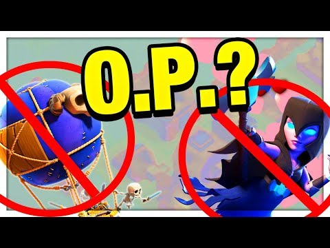 Thumbnail: TOO O.P. - Or Too RISKY? Why Night Witches LOVE Drop Ships! Clash of Clans Strategy
