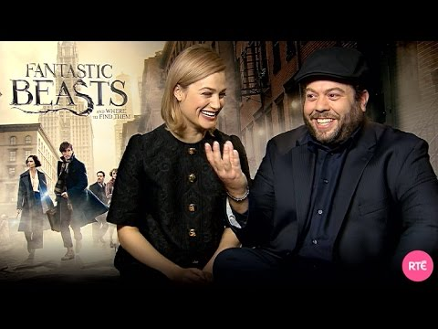 Dan Fogler & Alison Sudol talk Fantastic Beasts and Where to Find Them