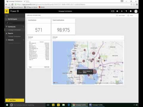Power BI and Realtime Dashboards Take On Donald Trump