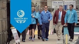 Queen's baton reaches Jersey with the help of Tom Daley | Queen's Baton Relay