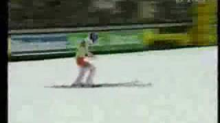 The best  jumps in Planica 2001-2003