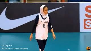 Best volleyball actions of Shabnam Alikhani