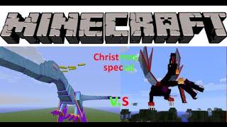 Minecraft mob battles - 04 - Windigo vs The Queen and Ursa Major