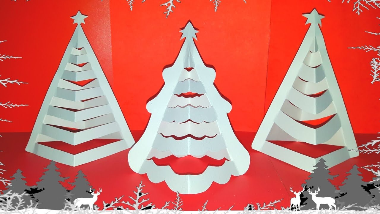 Tutorial How To Make Paper Cutting Art : 3D Paper