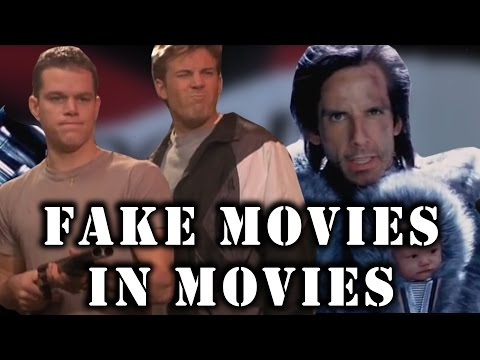 Fake Movies in Movies - Supercut