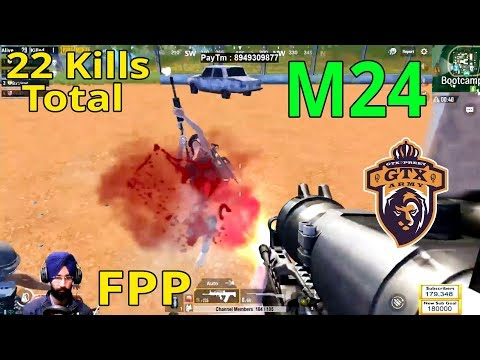 M24 Intense Headshots in FPP - PUBG MOBILE