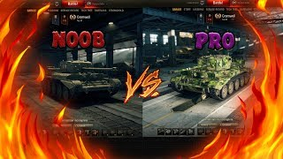 World Of Tanks - PRO Vs NOOB (Medium Tank)