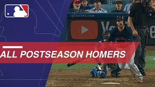 Check out all the home run from the postseason