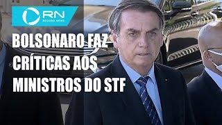 Bolsonaro Faz Críticas Aos Ministros Do Stf Alexandre Moraes E Celso De Mello