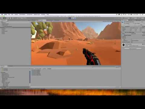 UNITY USE STANDARD ASSETS FOR FIRST PERSON SHOOTER