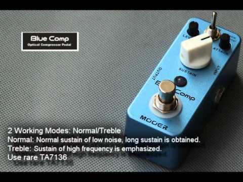 Mooer Blue Comp Compressor micro compact pedal