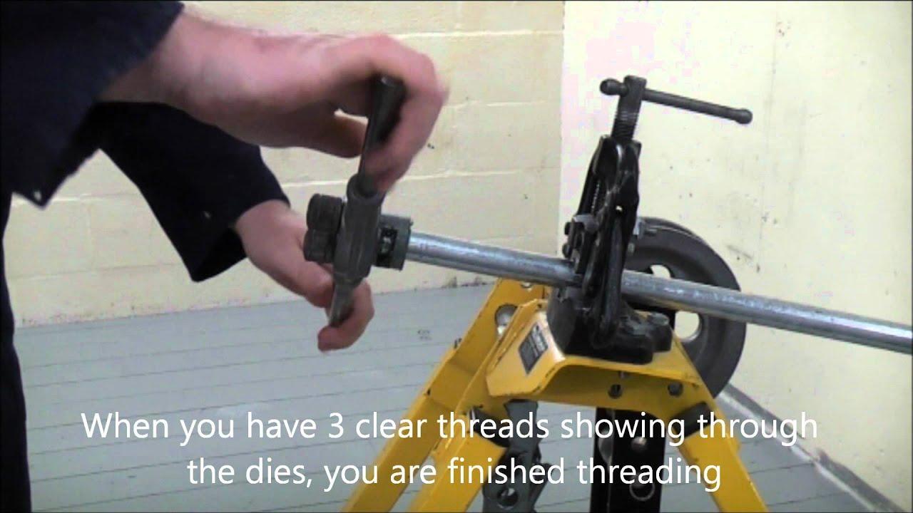 How to cut a thread 72