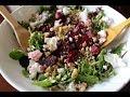 Roasted Beet Salad with Walnuts & Feta