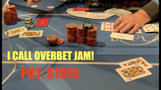 We're All In @ Bellagio And There's Only One Hand We Can Beat! Poker Vlog Ep 143