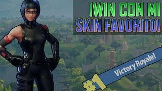 Fortnite ? Win with my favorite skin! Only Gameplay