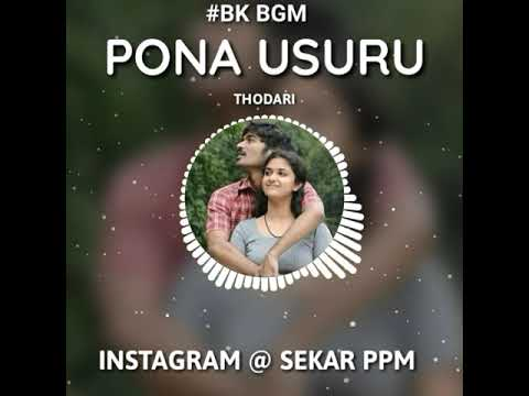Pona Usuru Vanthutuchu BGM || Dhanush || Keerthi Suresh || Thodari