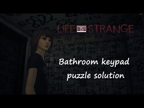Life is Strange ep5 - Bathroom keypad puzzle solution thumbnail