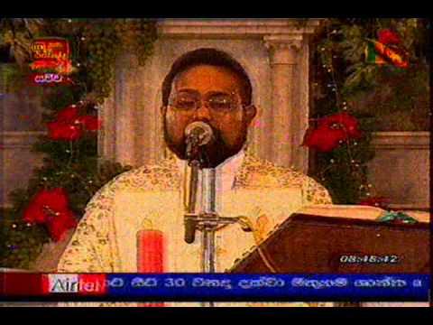 Christmas mass at St. Mary's Church Thudella Ja-Ela