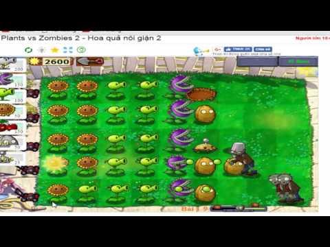 [GAMES TTL] GAME TRỒNG CÂY BẮN MA  – Plants vs Zombies phần 3