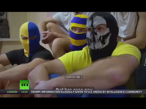 'they asked us to put on masks': football fans dismantle bbc documentary