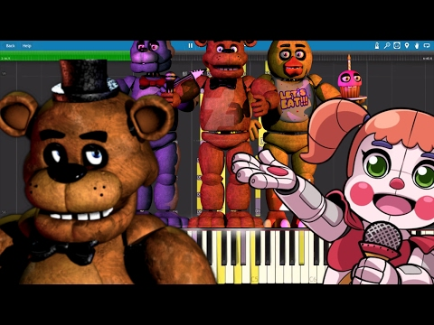 IMPOSSIBLE REMIX - FNAF Medley - The Living Tombstone