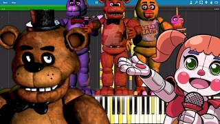 IMPOSSIBLE REMIX FNAF Medley The Living Tombstone