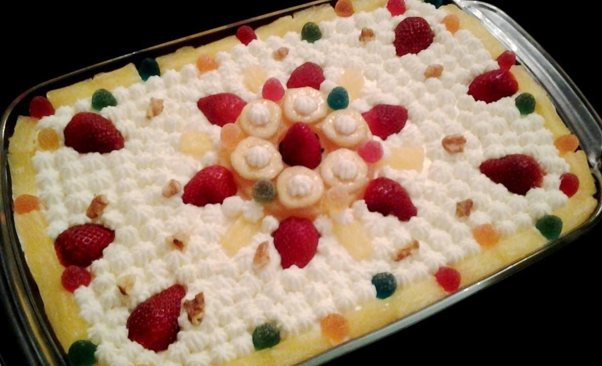 How To Make Pineapple Cake In Hindi