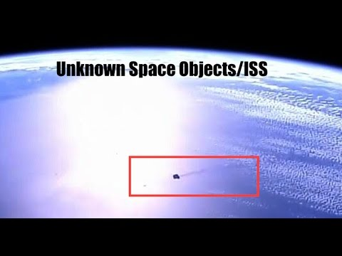 ISS Live Feed Captures Large Black Burning Object Above Earth!   Awesome View