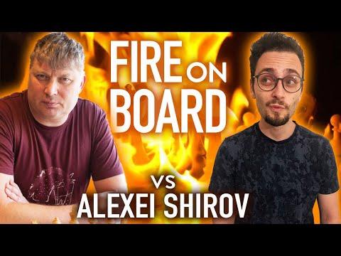 I played former World #2 Alexei Shirov | Chess Game Analysis