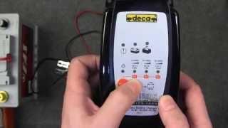 Автотема.  Обзор зарядного устройства DECA SM 1236