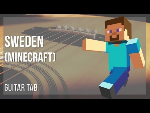 EASY Guitar Tab: How to play Sweden (Minecraft) by C418