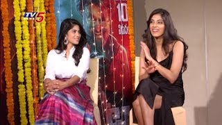 Petta Movie Heroines Special Interview | #MeghaAkash | #MalavikaMohanan | TV5 News
