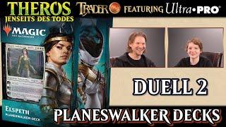 Duell 2 Theros Jenseits des Todes Planeswalker Decks Magic the Gathering deutsch MTG Trader Tutorial