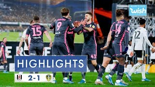 Highlights | Fulham 2-1 Leeds United | 2019/20 EFL Championship
