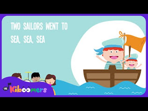 A Sailor Went to Sea | Kids Song | Nursery Rhyme | Lyrics | Toddler Songs