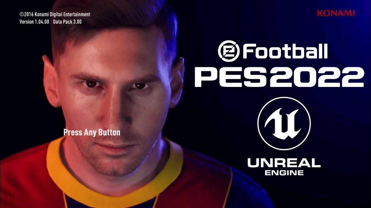 PES 2017   PATCH NEW UNREAL ENGINE 4 GRAPHICS MENU 2022   SEASON PATCH UPDATE   PC