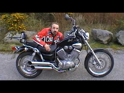 yamaha virago xv 535 custom cruiser full road review complete youtube rh youtube com